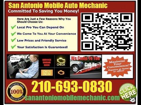 Mobile Mechanic In San Antonio Texas Auto Car Repair Service