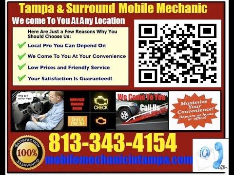 Mobile Mechanic In Tampa Auto Car Repair Service