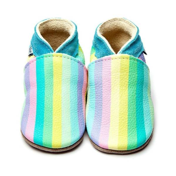 stripes rainbow inch blue