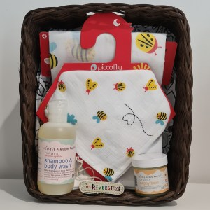 newborn gift set bees