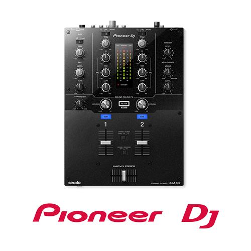 Pioneer DJM-S3 2 Channel Mixer