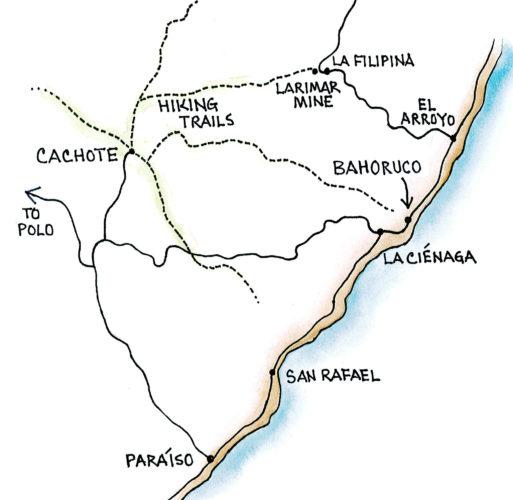 Cachote (Map by Dana Gardner)