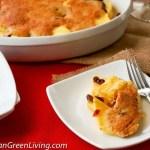 Blissful Fresh Pineapple Bake, a 30 minute dessert