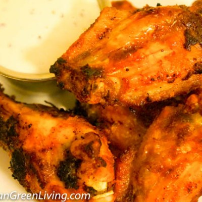 Emeril's Oven Roasted Chicken Wings