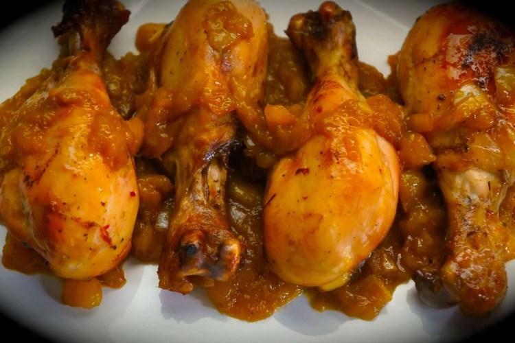 Mango Chicken, my way