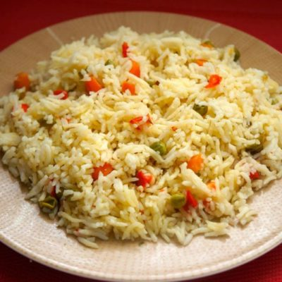 The perfect Rice with Veggies recipe