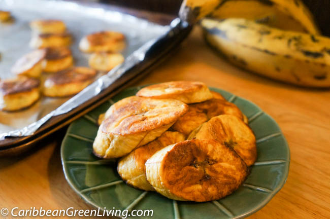 Roasted Sweet Plantains