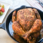 Roasted Chicken with Bread Salad, the perfect dinner