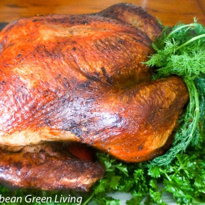 Fresh Herbs and Spices Roasted Turkey