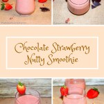 Chocolate Strawberry Nutty Smoothie