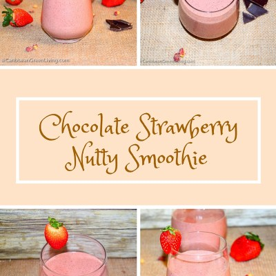 Chocolate Strawberry Nutty Smoothie