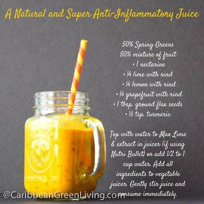 A Natural and Super Anti-Inflammatory Juice