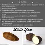 Yam, a tropical root vegetable and the benefits