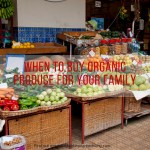 When to Buy Organic Produce for your Family