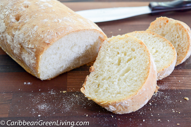A tasty and crispy Ciabatta Bread Machine Recipe made easy
