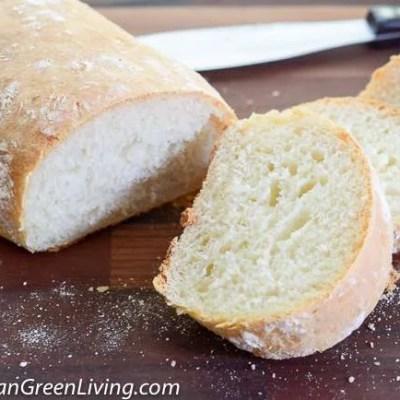 A tasty and crispy Ciabatta Bread Machine Recipe made easy