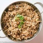 Warm Pearl Barley with Mushroom Salad