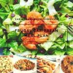 Newsletter Sneak Peek and Sample Frugal Caribbean Cooking Meal Plan