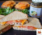 Quick and Easy Salmon Melt Sandwich