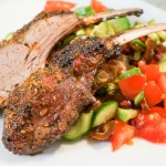 Rack of Lamb with Mango Honey-Glaze
