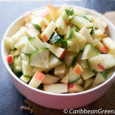 Quick and Easy Cucumber and Apple Salad