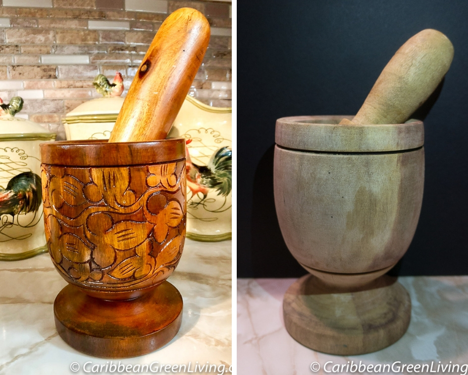 Caribbean Mortar and Pestle