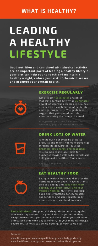 What does it mean to be healthy