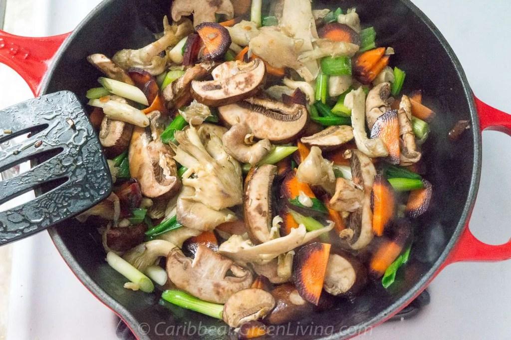 Sauteed Mushrooms and Carrots 3