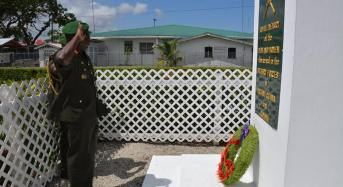GDF commemorates eight anniversary of Veterans' Day