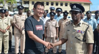 Chinese donated Police fleet to have SOP's