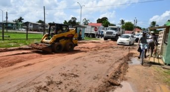 Herstelling main access road upgrade begins
