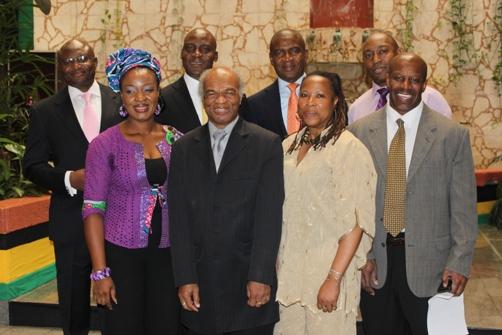 Tokunbo Olamiju Ajilore- Chiedu, Femi Niyi, Clyde Baker, Bola Akindele, Claire Jackson, Del Ateh and Denis St Bernard