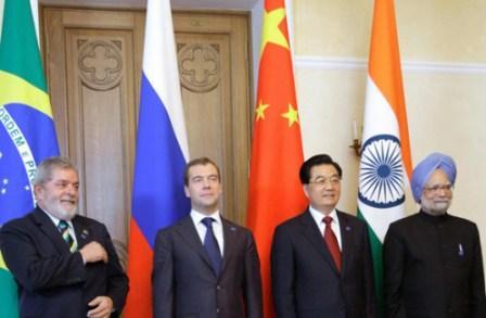 BRIC) Brazil, Russia, India and China
