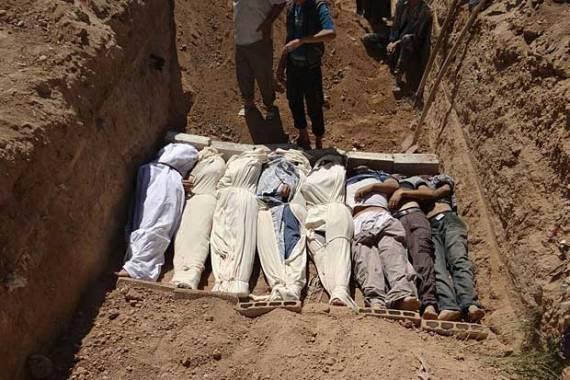 mass grave. Photo courtesy www.usnews.com