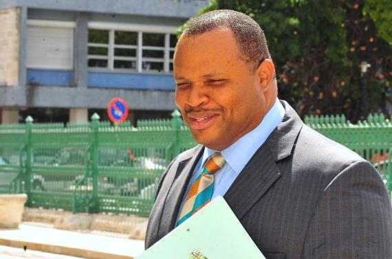 Minister of Finance, Chris Sinckler (FP)
