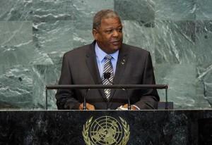 Hon. Baldwin Spencer, PM of Antigua and Bermuda