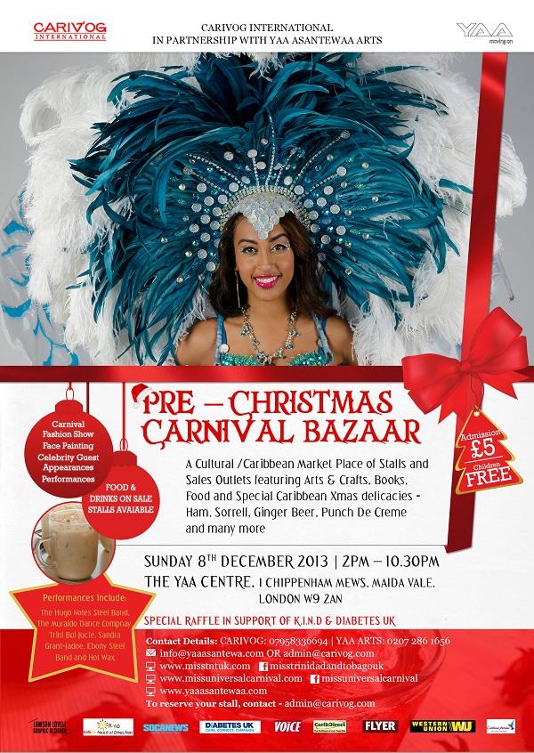 Pre-Christmas Carnival Bazaar - FLYER - front