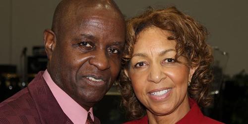 Bishop Bobby Davis and wife. Photo courtesy www.blackchristiannews.com