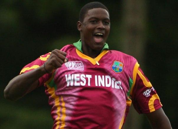 Jason Omar Holder. Photo courtesy www.cricketcountry.com