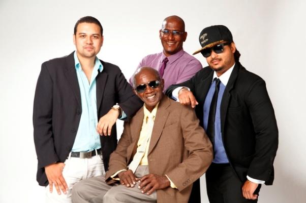 Press Photo Christian James, Michael Anthony, Graeme Suite, Michael Mooleedhar