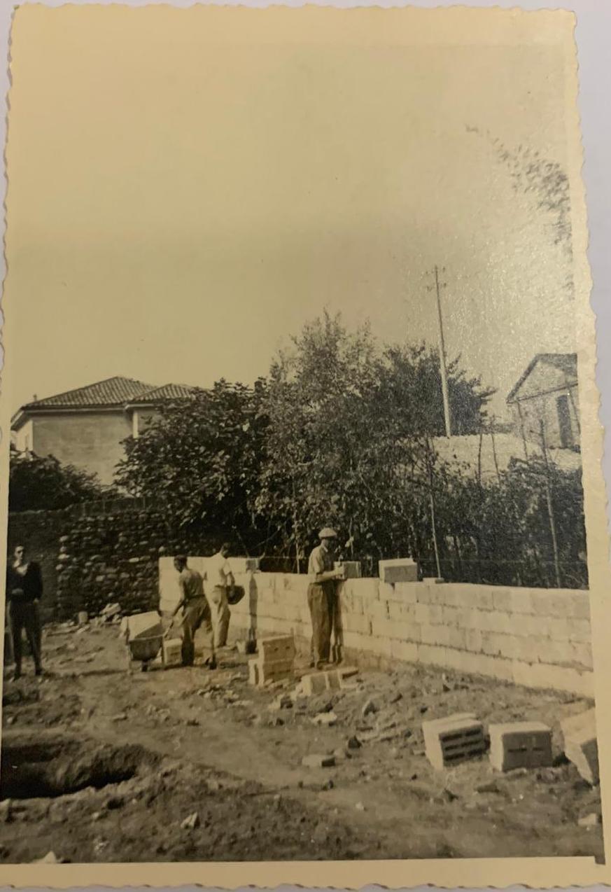 inizio lavori 1951