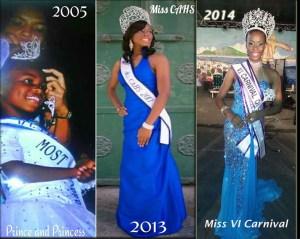 Deja'Nique Navarro VI Carnival queen