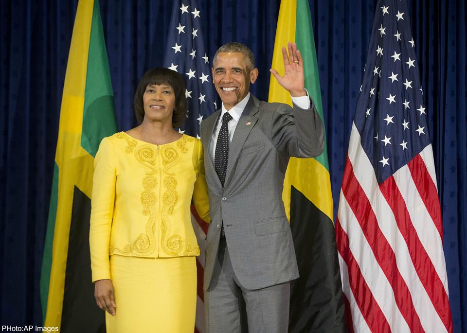 President Obama pays homage to Bob Marley in Jamaica