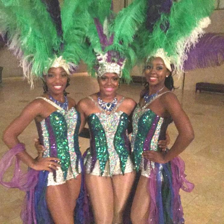 Caribbean Ritual Dancers @CNNCenter