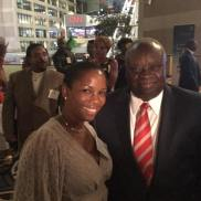 Dr. Danielle Greene(ATL) and Governor Mapp