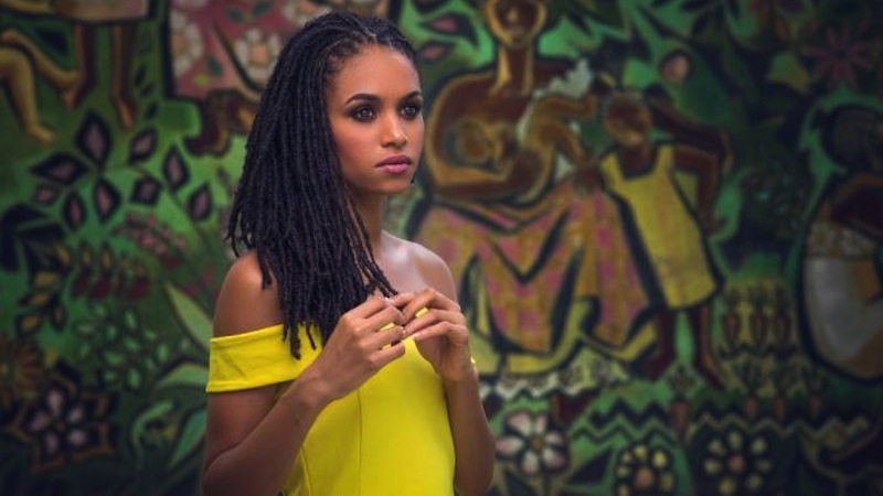 First Dread-locked Miss Jamaica Places in Miss World