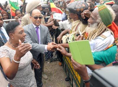 Haile Selassie Grandson Visits Jamaica