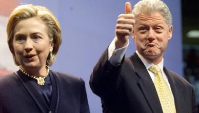 Bill Clinton and Hilary Clinton