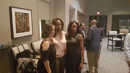 Congresswoman Stacey Plaskett Connects with the Caribbean Diaspora