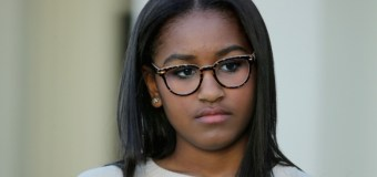 Sasha Obama Missing Due to Final Exams